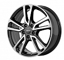 Alutec Tormenta 17x7 5x114.3мм DIA 67.1мм ET 48.5мм [Diamond Black Front Polished]