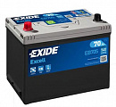 Exide Excell Asia (70А/ч) R 540A (266x172x223)