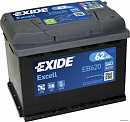 Exide Excell (62А/ч) R 540A (242x175x190)