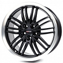 Alutec BlackSun 17x8 5x120мм DIA 72.6мм ET 35мм [Racing Black Lip Polished]