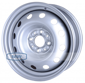 Magnetto Wheels 14003 14x5.5 4x98мм DIA 58.5мм ET 35мм [Silver]