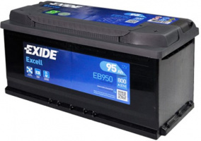 Exide Excell (95А/ч) R 800A (353x175x190)